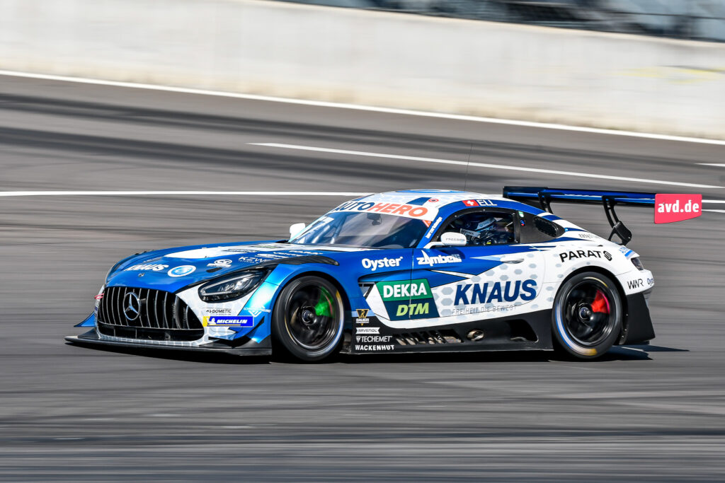 Philip Ellis WINWARD Racing Mercedes-AMG GT3 DTM Lausitzring