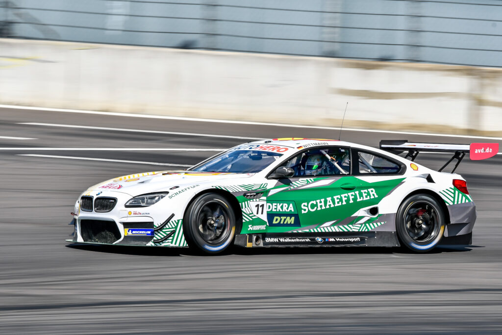 Marco Wittmann Walkenhorst Motorsport BMW M6 GT3 DTM Lausitzring