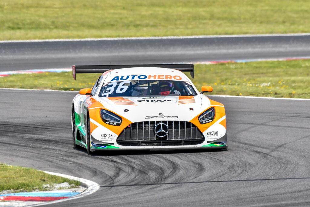Arjun Maini GetSpeed Performance Mercedes-AMG GT3 DTM Lausitzring