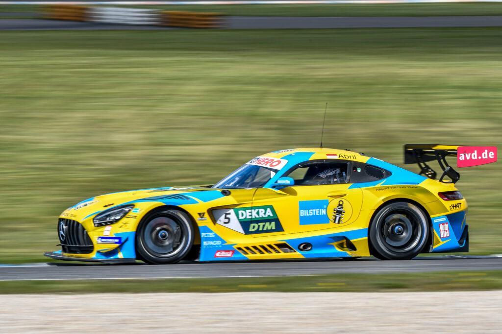 Vincent Abril Haupt Racing Team Mercedes-AMG GT3 DTM Lausitzring