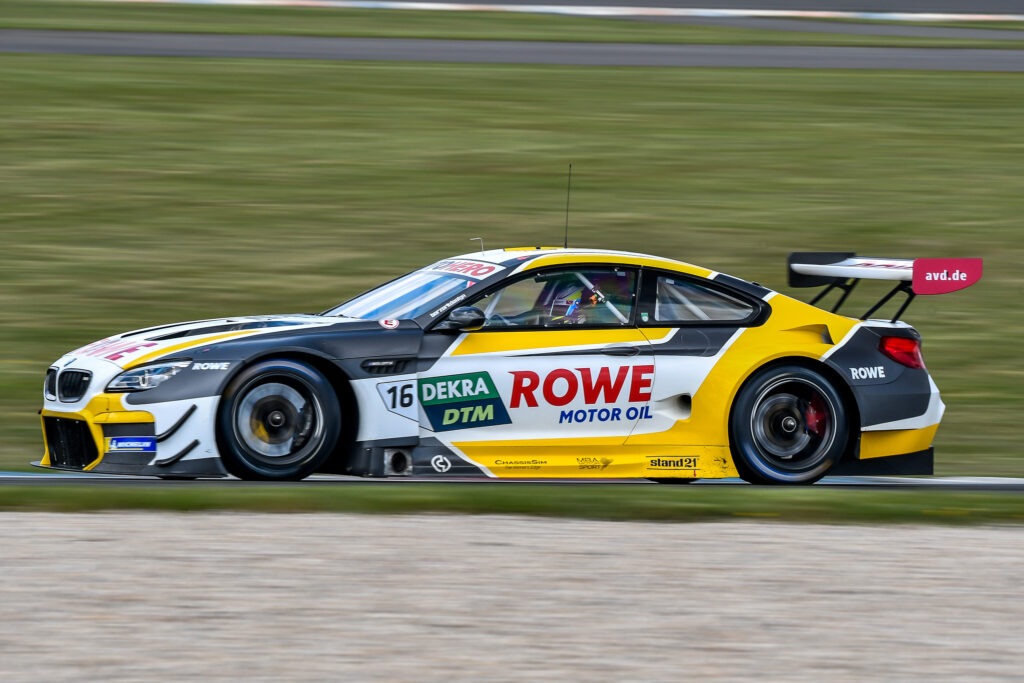 Timo Glock ROWE Racing BMW M6 GT3 DTM Lausitzring