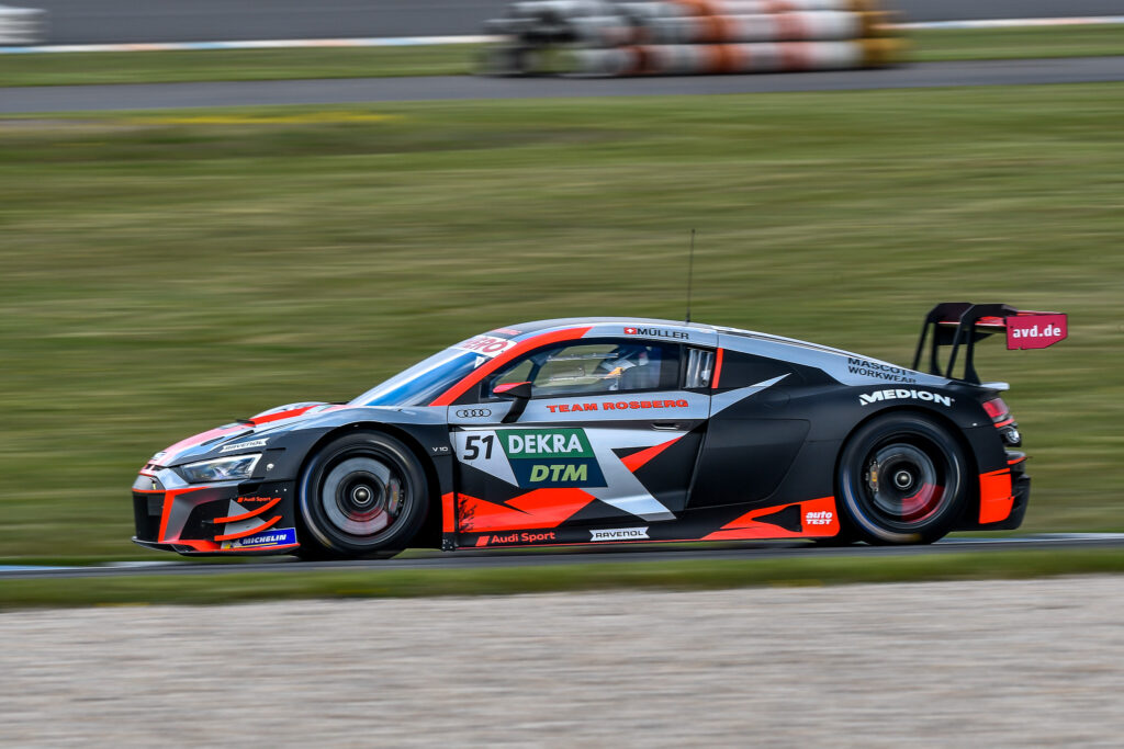 Nico Müller Team Rosberg Audi R8 LMS GT3 DTM Lausitzring