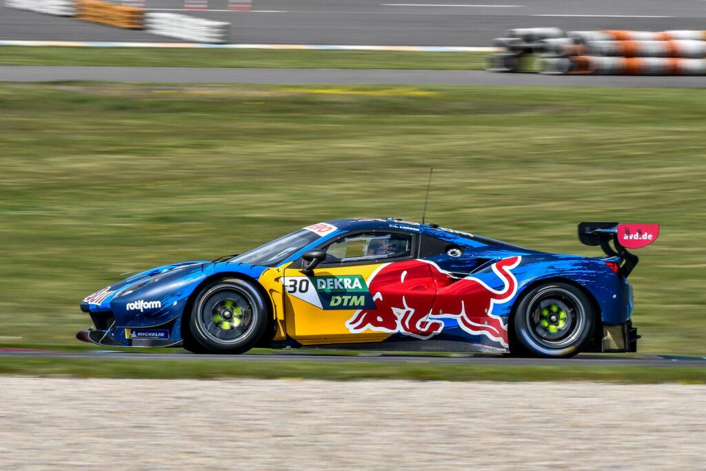 Liam Lawson AF Corse Ferrari 488 GT3 DTM Lausitzring