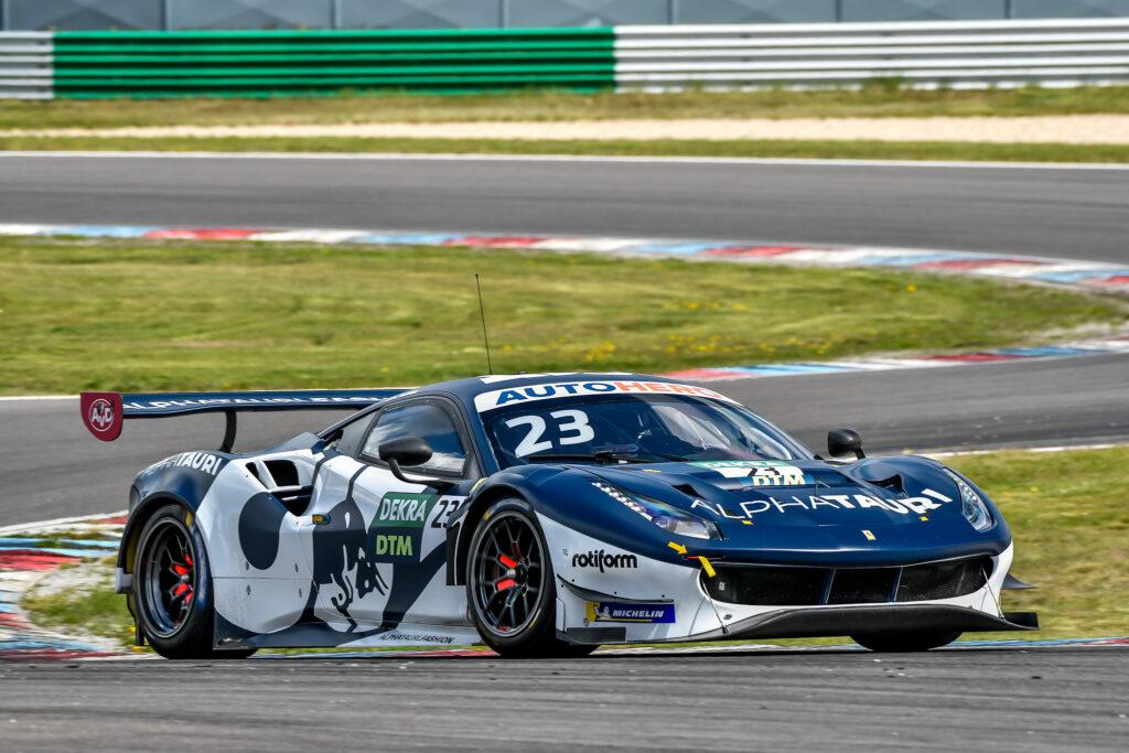 Alexander Albon AF Corse Ferrari 488 GT3 DTM Lausitzring