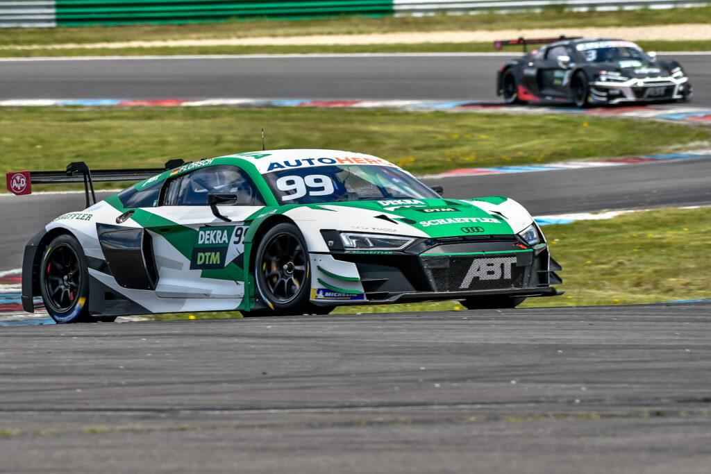 Sophia Flörsch Abt Sportsline Audi R8 LMS GT3 DTM Lausitzring