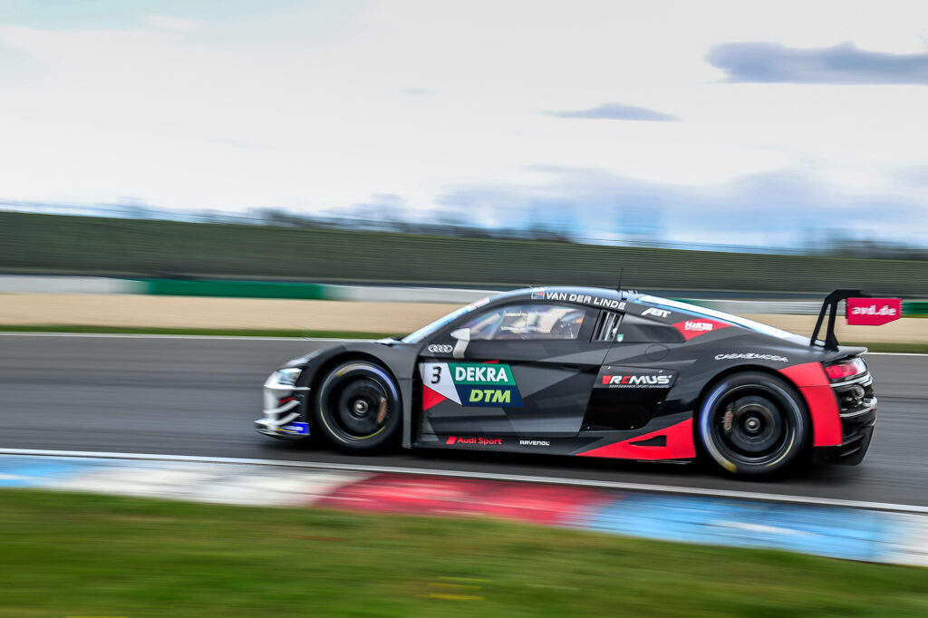 Kelvin van der Linde Abt Sportsline Audi R8 LMS GT3 DTM Lausitzring
