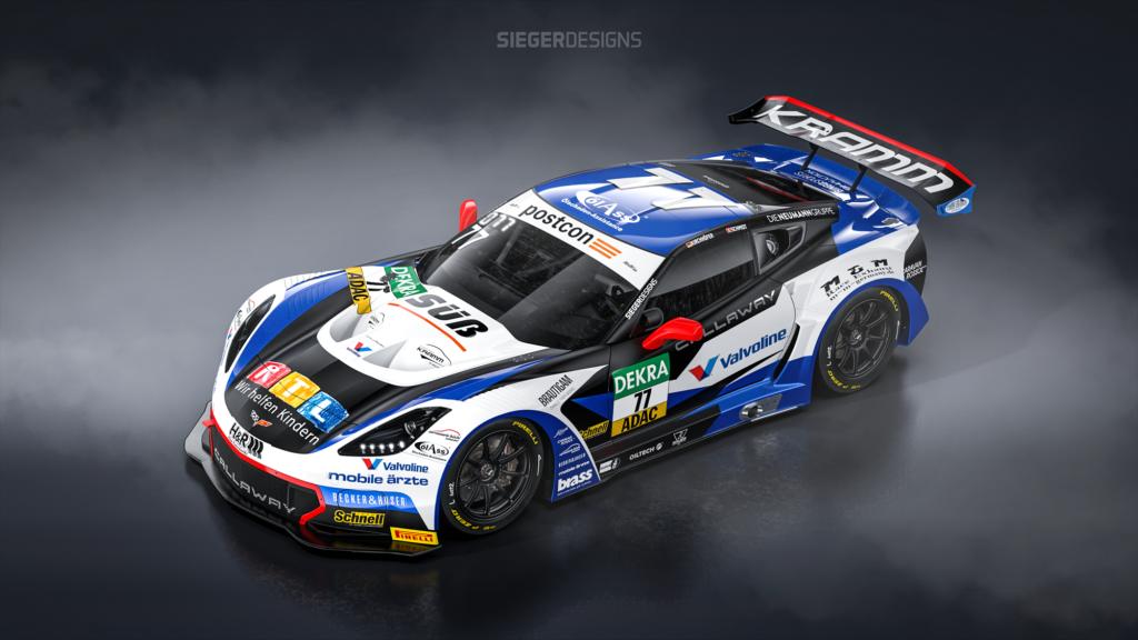 Marvin Kirchhöfer Jeffrey Schmidt Callaway Competition Corvette C7 GT3-R ADAC GT Masters