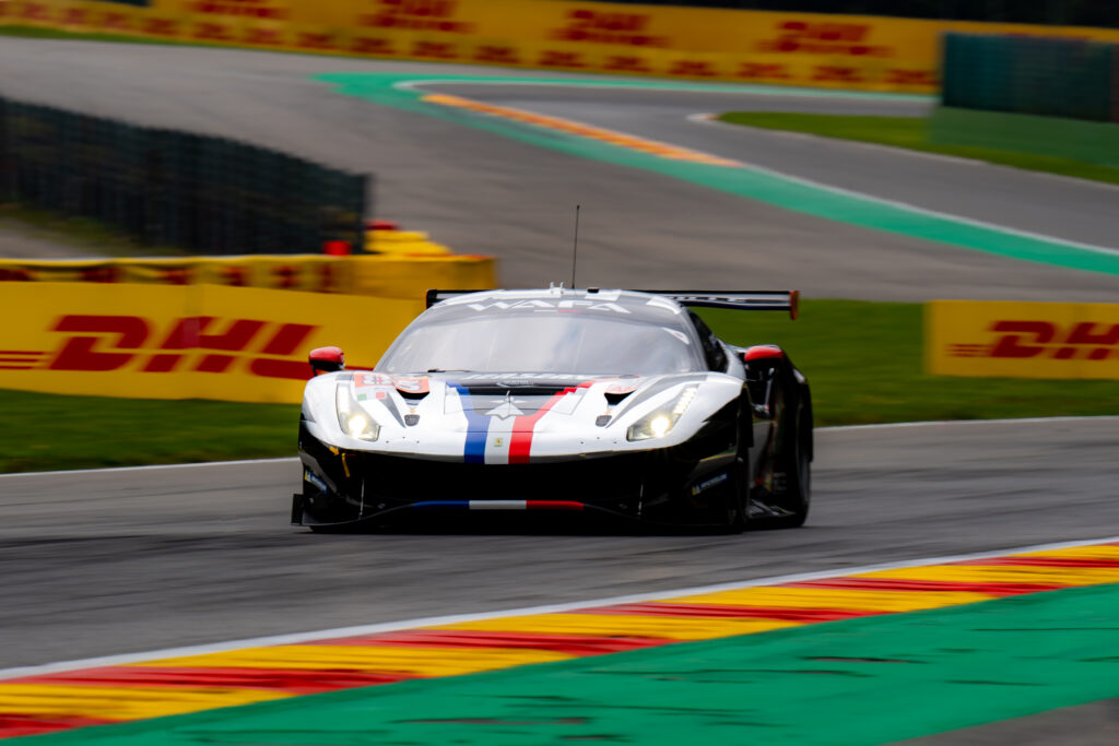 François Perrodo Nicklas Nielsen Alessio Rovera AF Corse Ferrari 488 GTE FIA WEC Spa-Francorchamps