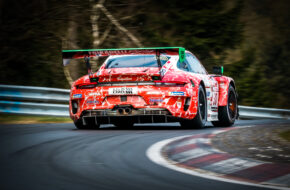 Nick Tandy Maxime Martin Frikadelli Racing Porsche 911 GT3 R Nürburgring Langstrecken-Serie Nürburgring-Nordschleife