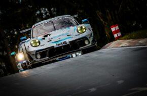 Tobias Müller Tristan Viidas Romain Dumas Julien Andlauer Rutronik Racing Porsche 911 GT3 R 24h Qualifikationsrennen Nürburgring