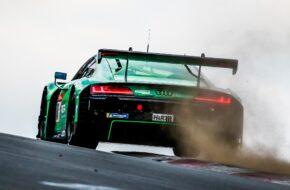 Michele Beretta Frank Stippler Nicki Thiim Vincent Kolb Phoenix Racing Audi R8 LMS GT3 24h Nürburgring Qualifikationsrennen