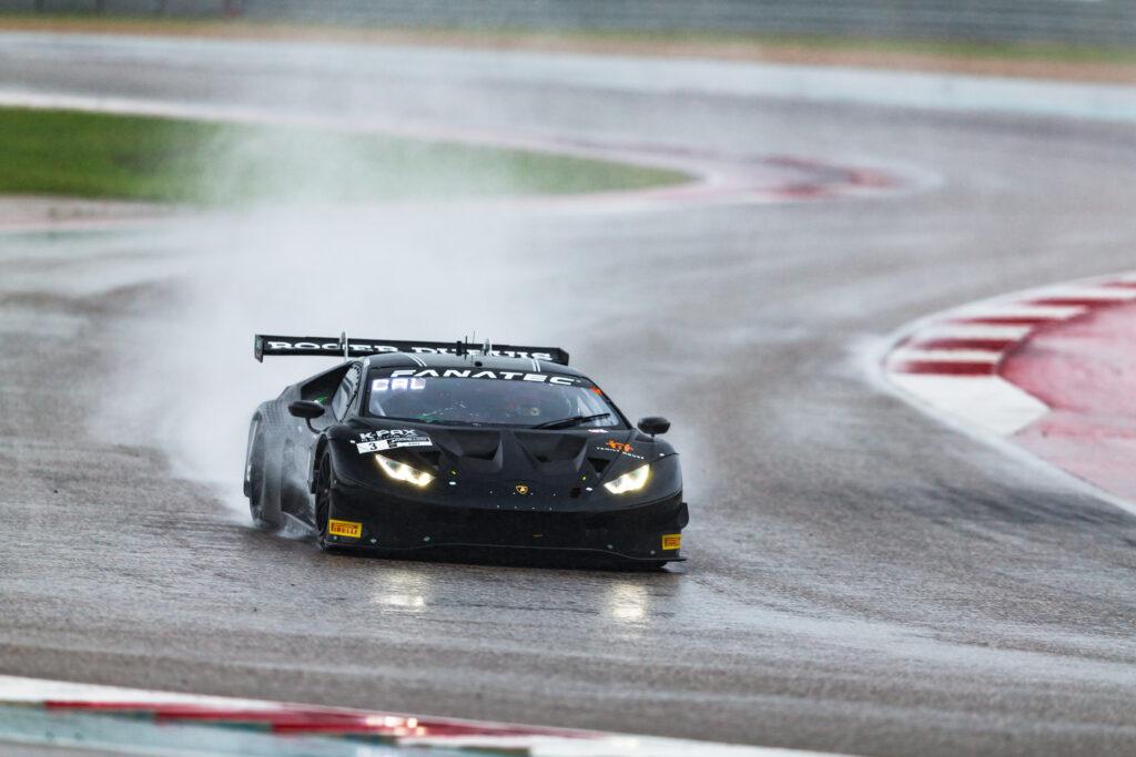 Andrea Caldarelli Jordan Pepper K-PAX Racing Lamborghini Huracan GT3 GT World Challenge America Austin