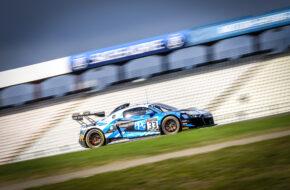 Anders Fjordbach Mark Patterson High Class Racing Audi R8 LMS GT2 GT2 European Series Hockenheim