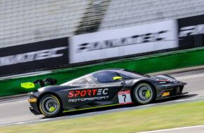 Christoph Ulrich Adrian Spescha Sportec Motorsport KTM X-Bow GT2 GT2 European Series Hockenheim