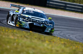 Jusuf Owega Patric Niederhauser Phoenix Racing Audi R8 LMS GT3 ADAC GT Masters Oschersleben
