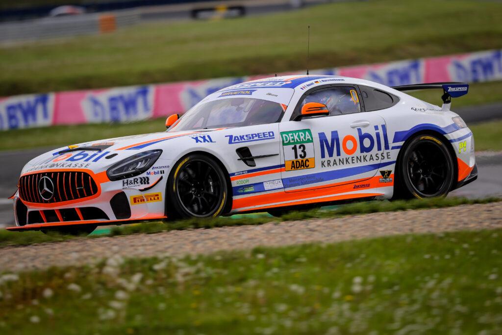 Jan Marschalkowski Théo Nouet Team Zakspeed Mercedes-AMG GT4 ADAC GT4 Germany Oschersleben