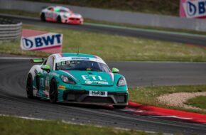 Tano Neumann Joachim Bölting Overdrive Racing Porsche 718 Cayman GT4 Clubsport MR ADAC GT4 Germany Oschersleben
