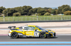 Roee Meyuhas Clement Seyler Sainteloc Racing Audi R8 LMS GT4 GT4 European Series Le Castellet