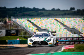 Luca Stolz Maro Engel Toksport WRT Mercedes-AMG GT3 GT World Challenge Europe Magny Cours