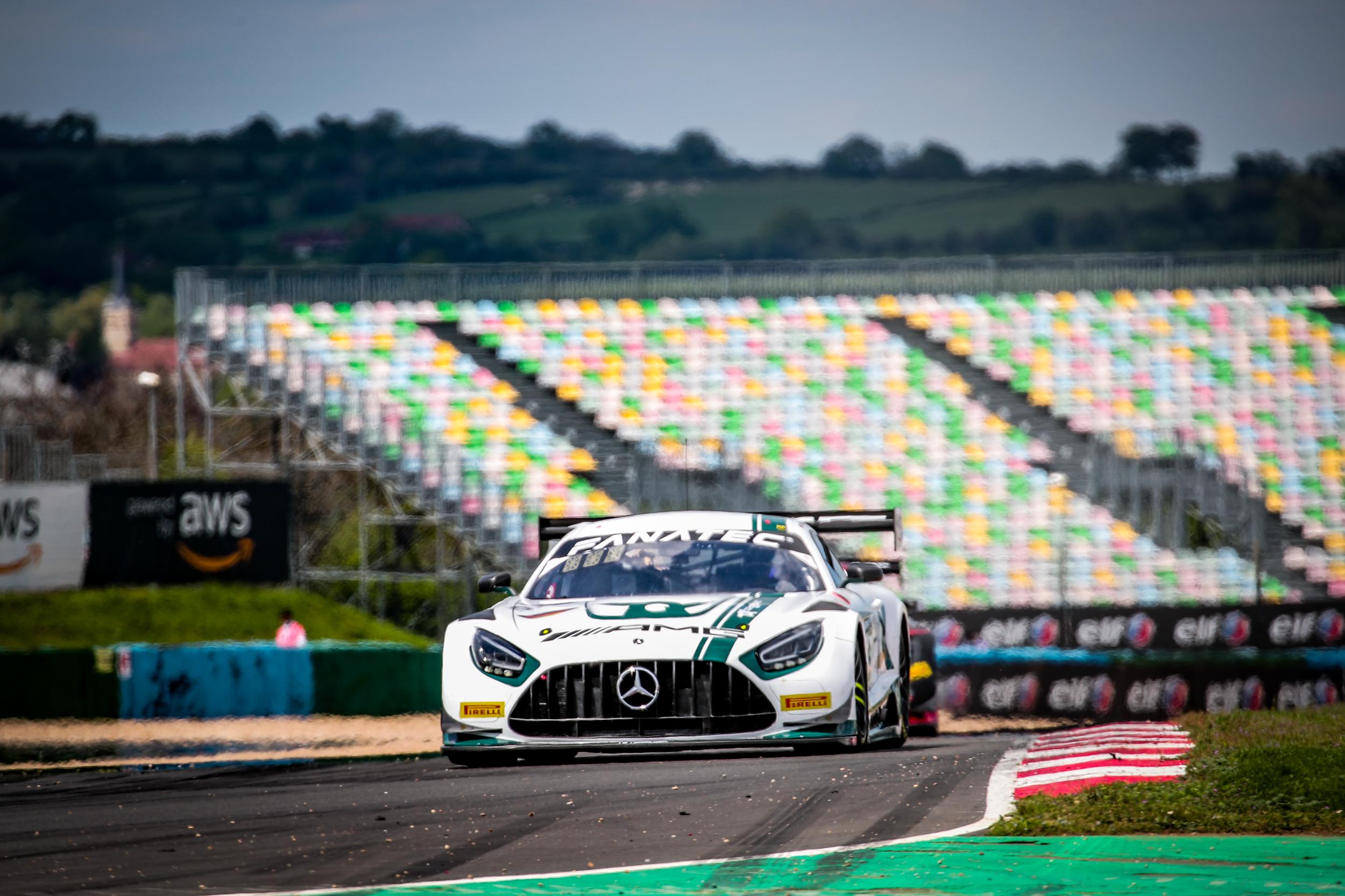 Luca Stolz Maro Engel Toksport WRT Mercedes-AMG GT3 GT World Challenge Europe Magny Cours