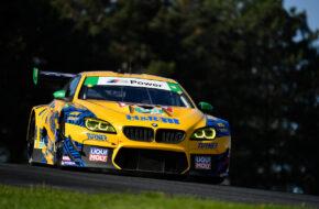 Bill Auberlen Robby Foley Turner Motorsports BMW M6 GT3 IMSA WeatherTech SportsCar Championship Mid Ohio