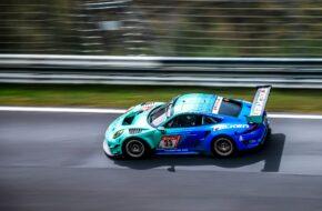 Klaus Bachler Alessio Picariello Thomas Preining Dirk Werner Falken Motorsports Porsche 911 GT3 R 24h Qualifikationsrennen Nürburgring