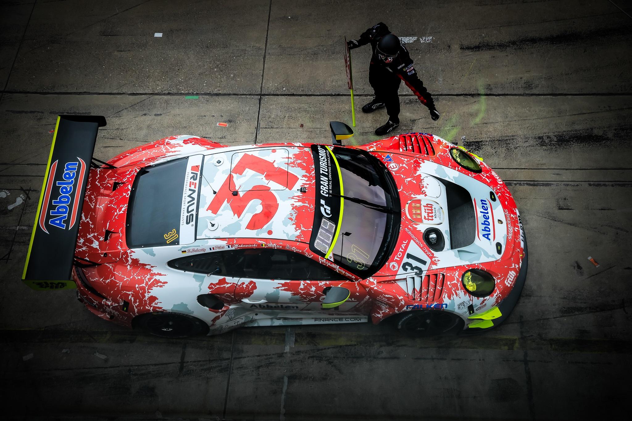 Patrick Pilet Frédéric Makowiecki Maxime Martin Dennis Olsen Frikadelli Racing Porsche 911 GT3 R 24h Qualifikationsrennen Nürburgring