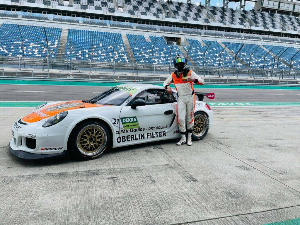Tim Heinemann PROsport Racing Porsche Cayman Pro4 DTM Trophy Lausitzring