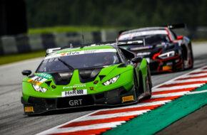 Mirko Bortolotti Albert Costa Grasser Racing Team Lamborghini Huracan GT3 ADAC GT Masters Red Bull Ring