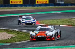 Charles Weerts Dries Vanthoor Team WRT Audi R8 LMS GT3 ADAC GT Masters Oschersleben