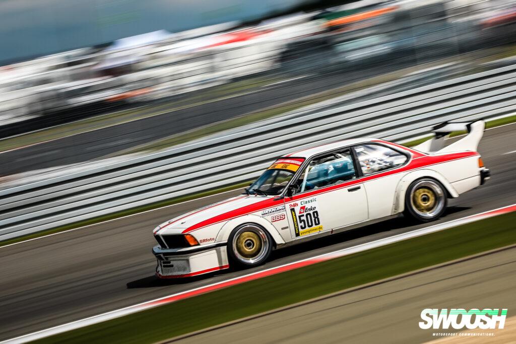 Peter Schumann Jürgen Schumann Olaf Manthey BMW 635 CSI 24h Classic Nürburgring