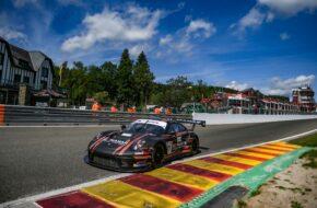 Al Faisal Al Zubair Andy Soucek Lechner Racing Porsche 911 GT3 R International GT Open Spa-Francorchamps