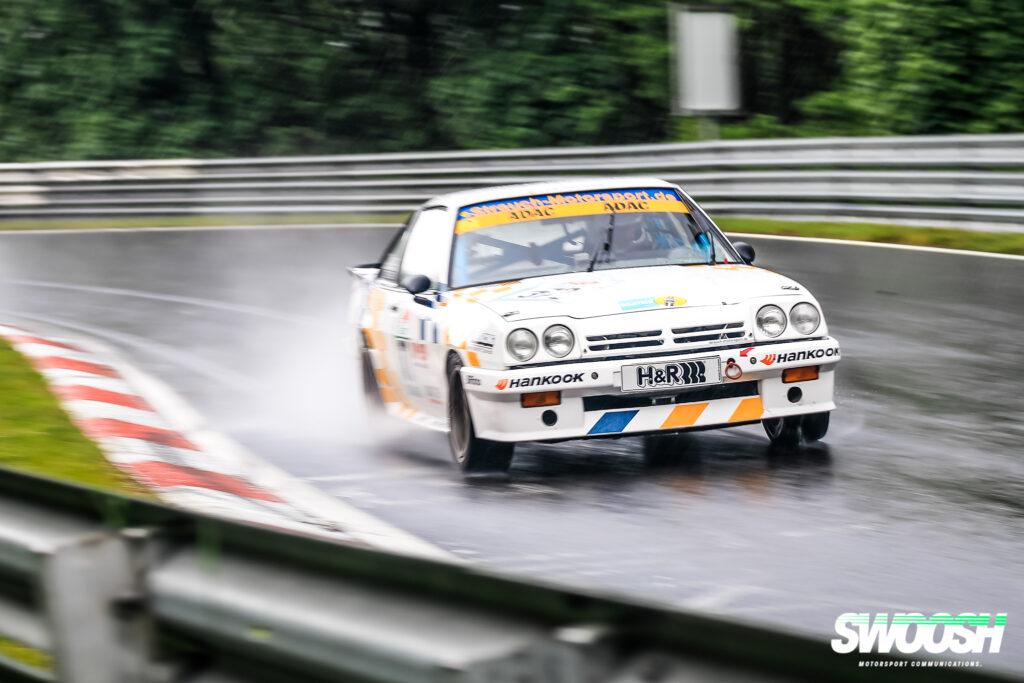 Dirk Strauch Rolf Derscheid Opel Manta i 200 24h Classic Nürburgring