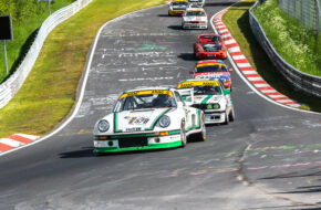 Ingo Pütz Christoph Breuer Porsche 911 RSR Youngtimer Trophy 24h Classic