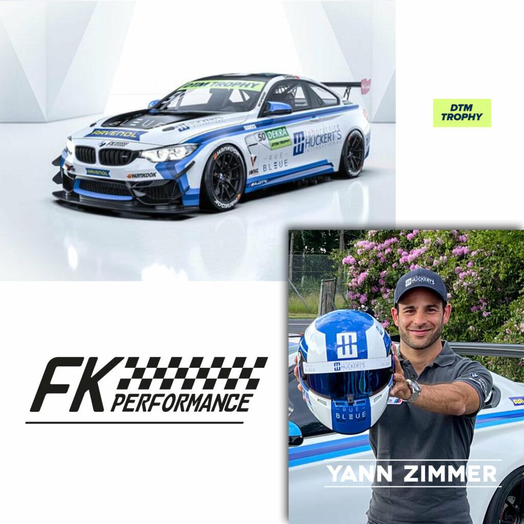 Yann Zimmer FK Performance BMW M4 DTM Trophy