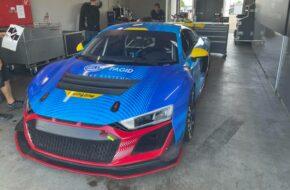 Dominique Schaak Mike Beckhusen Racing One Audi R8 LMS GT4 GTC Race