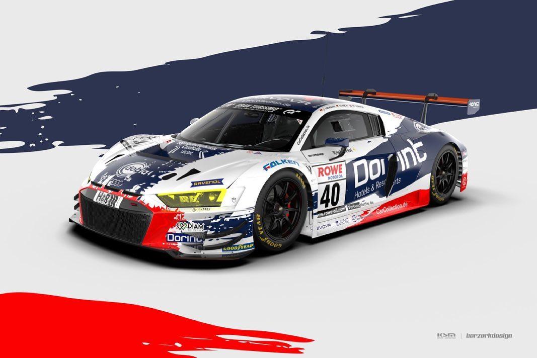 Jörg Viebahn Klaus Koch Milan Dontje Car Collection Audi R8 LMS GT3