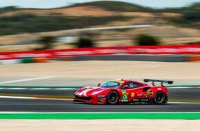 Alessandri Pier Guidi James Calado AF Corse Ferrari 488 GTE FIA WEC Portimao