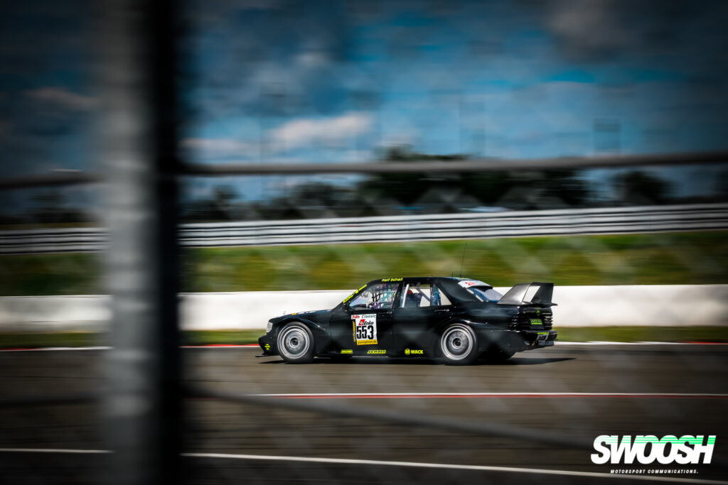 Ralf Schall Mercedes Benz E190 E2.5 16V 24h Classic Nürburgring
