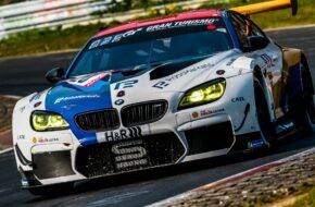 Alexander Sims Jesse Krohn Jens Klingmann Stef Dusseldorp Schubert Motorsport BMW M6 GT3 24h Qualifikationsrennen Nürburgring