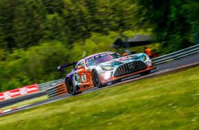 Patrick Assenheimer Hubert Haupt Maro Engel Nico Bastian Haupt Racing Team Mercedes-AMG GT3 24h Nürburgring