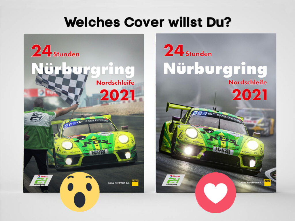 Cover 24h Nürburgring 2021 Jahrbuch