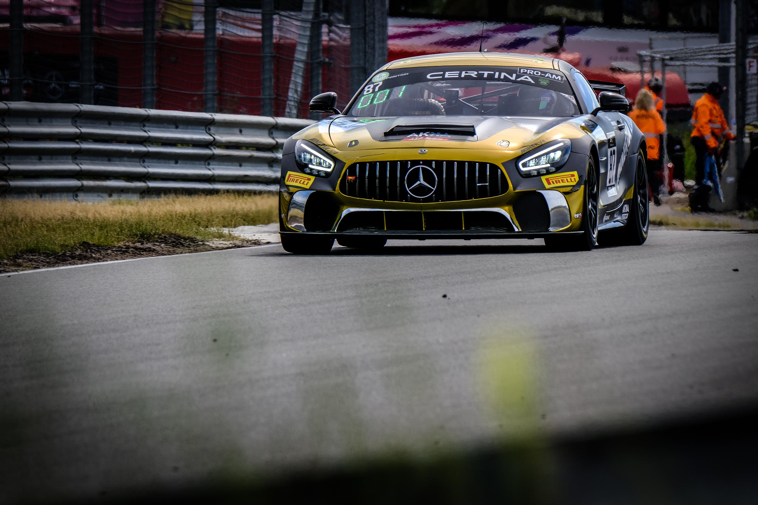 Jean Luc Beaubelique Jim Pla AKKA ASP Mercedes-AMG GT4 GT4 European Series Zandvoort