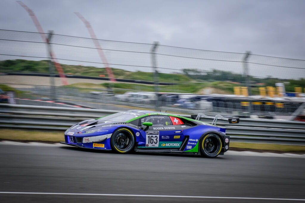 Albert Costa Norbert Siedler Emil Frey Racing Lamborghini Huracan GT3 GT World Challenge Europe Zandvoort