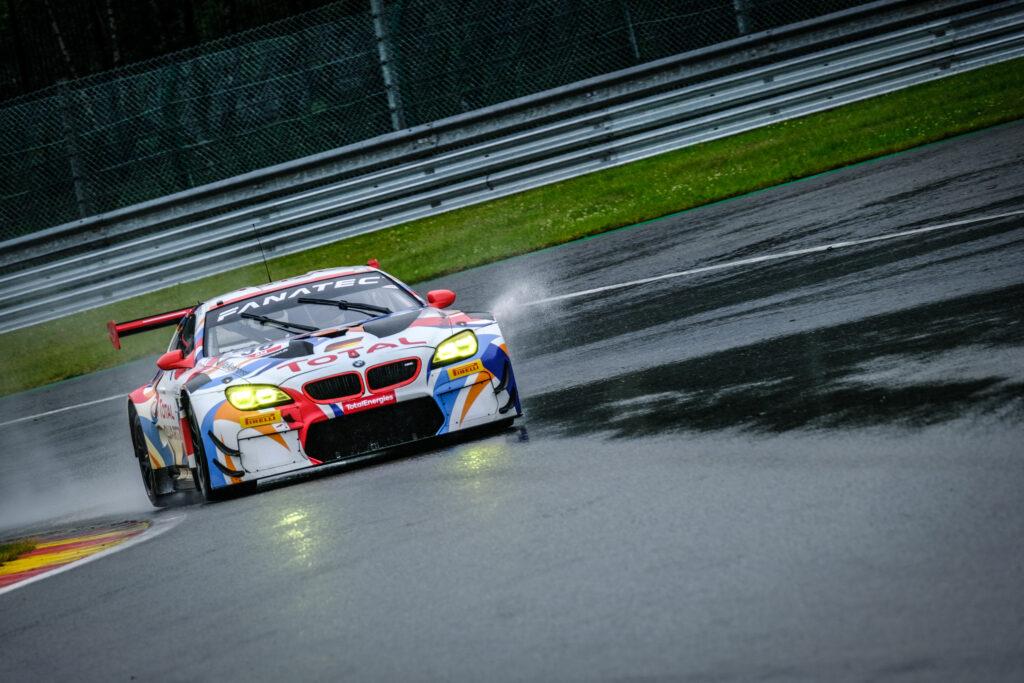 Henry Walkenhorst Friedrich von Bohlen Mario von Bohlen Don Yount Walkenhorst Motorsport BMW M6 GT3 GT World Challenge Europe Endurance Cup Testtag 24h Spa