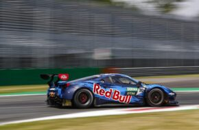 Liam Lawson Red Bull AF Corse Ferrari 488 GT3 DTM Monza