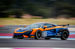 Bailey Voisin Charlie Fagg United Autosports McLaren 570S GT4 GT4 European Series Le Castellet