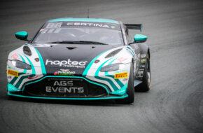 César Gazeau Konstantin Lachenauer AGS Events Aston Martin Vantage AMR GT4 GT4 European Series Zandvoort