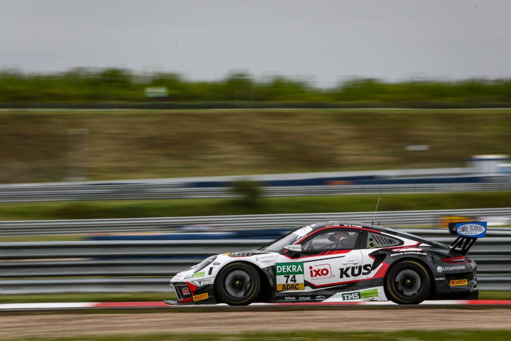 Jannes Fittje Dylan Pereira KÜS Team Bernhard Porsche 911 GT3 R ADAC GT Masters Oschersleben