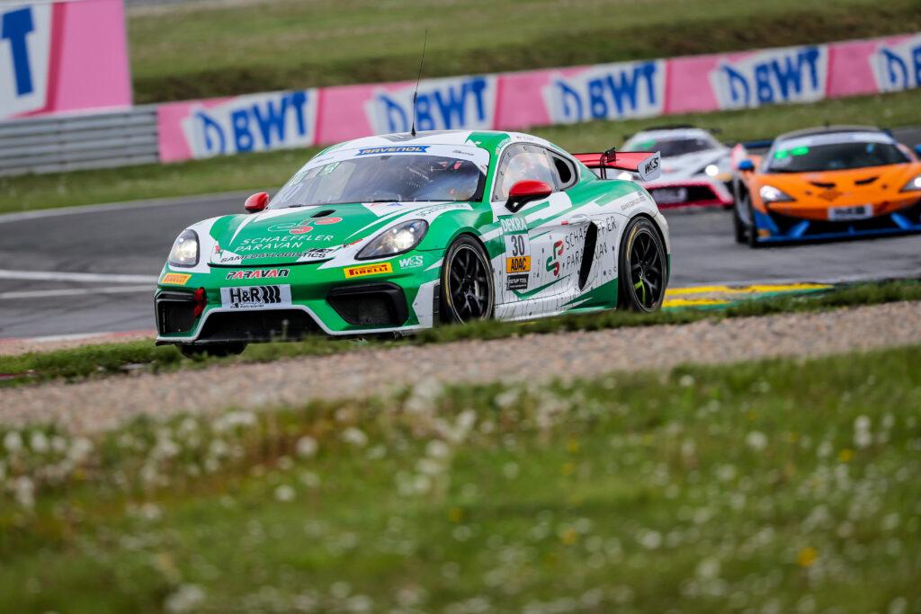 Max Kronberg Finn Zulauf W&S Motorsport Porsche 718 Cayman GT4 Clubsport MR ADAC GT Masters Oschersleben